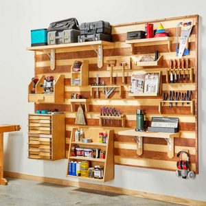 How to Build a French Cleat Tool Storage Wall