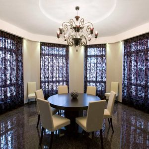 Stylish Dining Room Curtain Ideas