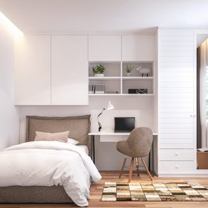 How to Organize a Small Bedroom to Maximize Space