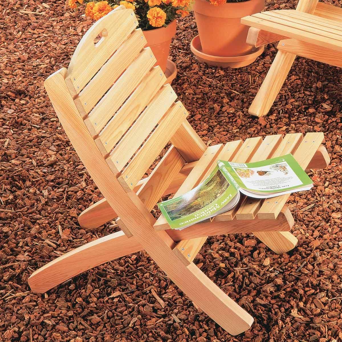 Build a Foldable Patio Chair