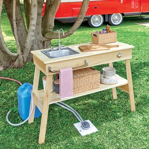 How to Build a Portable Prep Table for Your RV Road Trip