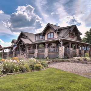 Home Sweet Log Home