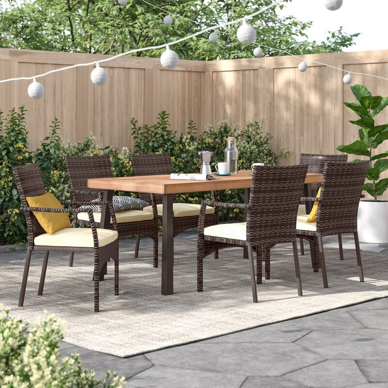 outdoor dining furniture set