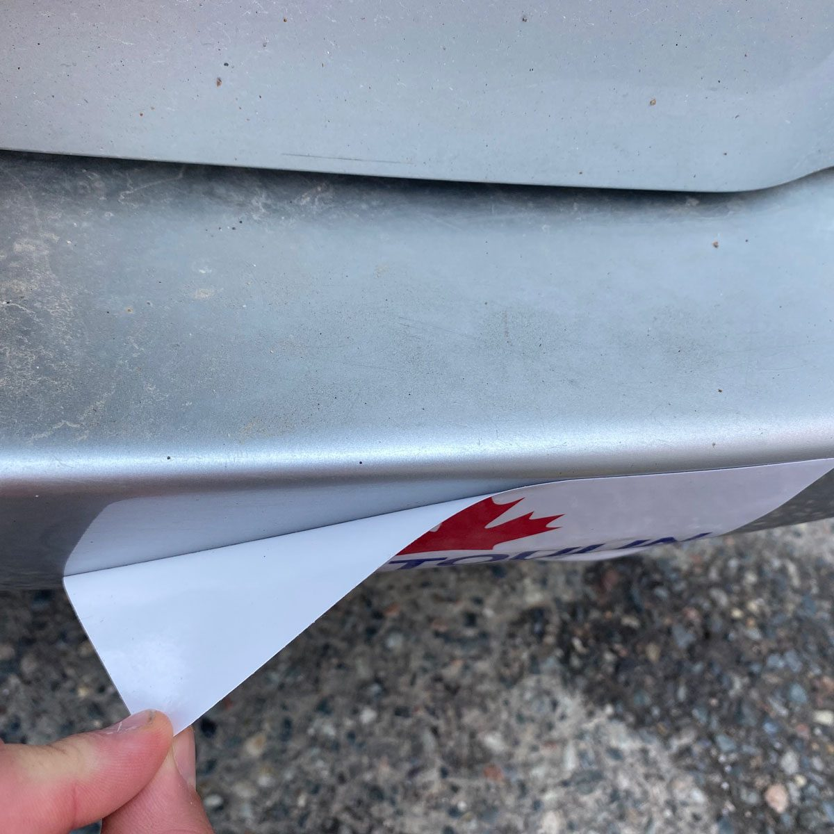 Peel Off the Sticker