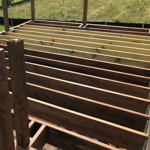 Fixing Warped Deck Joists