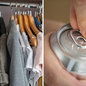 You Can Double Your Closet Space Using Soda Cans  Heres How