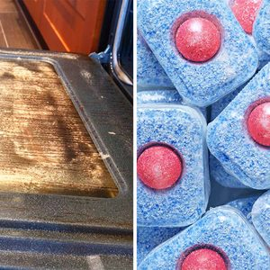 Your Dishwasher Tablets Can Actually Clean Your Oven — Here's How