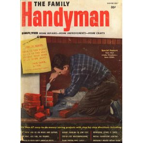 Family Handyman 1951 first cover