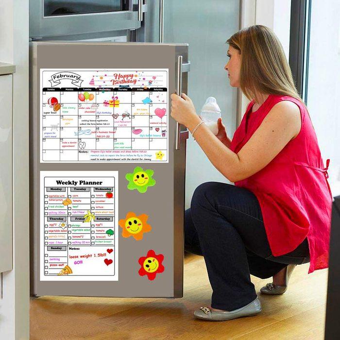 Dry Erase magnetic Calendar