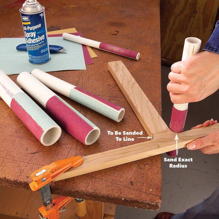 PVC Sanding Files
