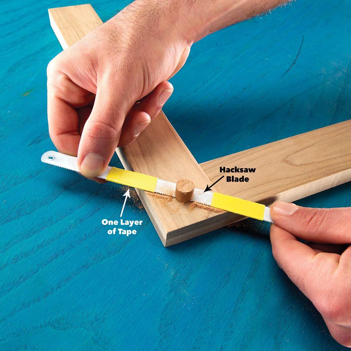 Flush-Cutting Hacksaw