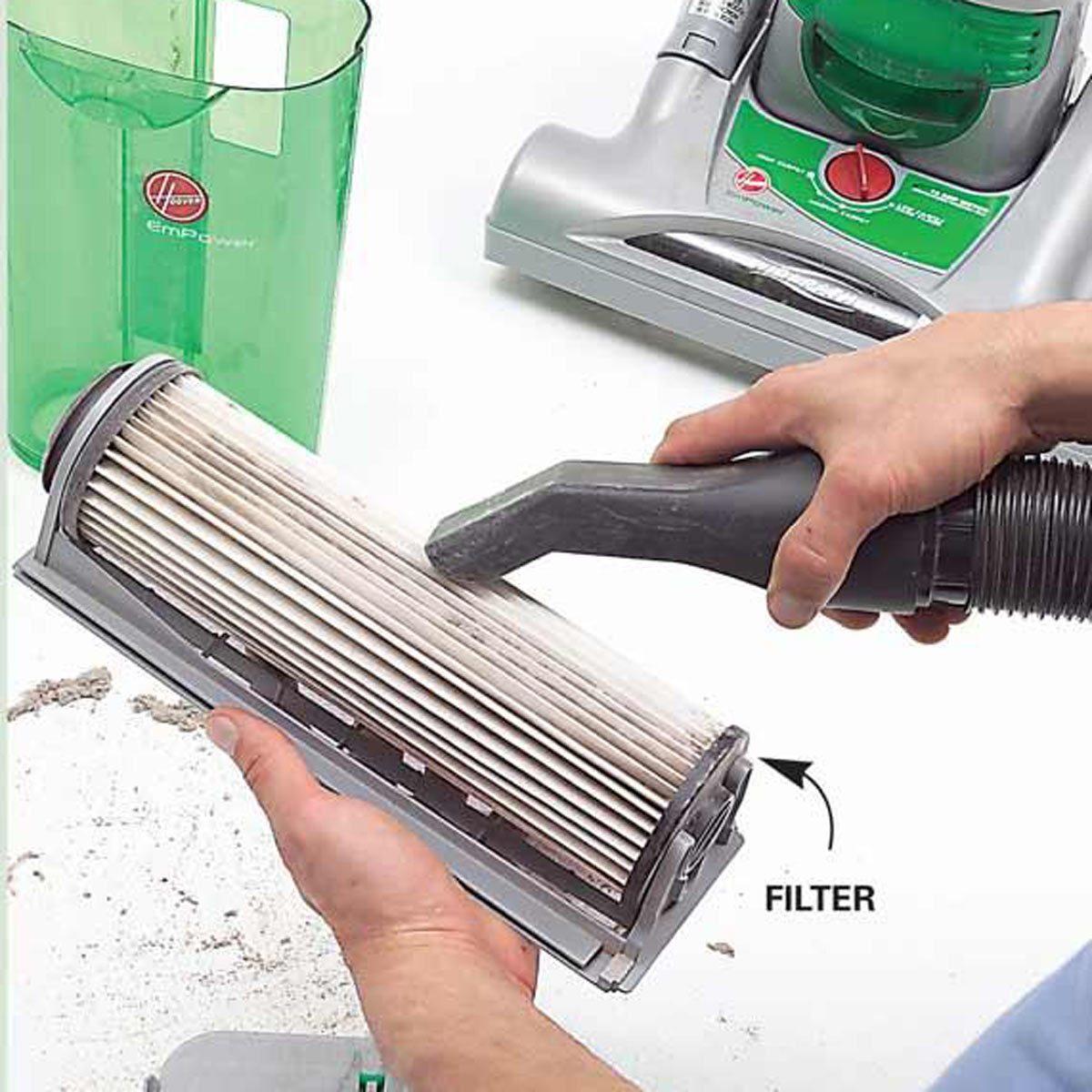 vacuuming mistake clean vacuum