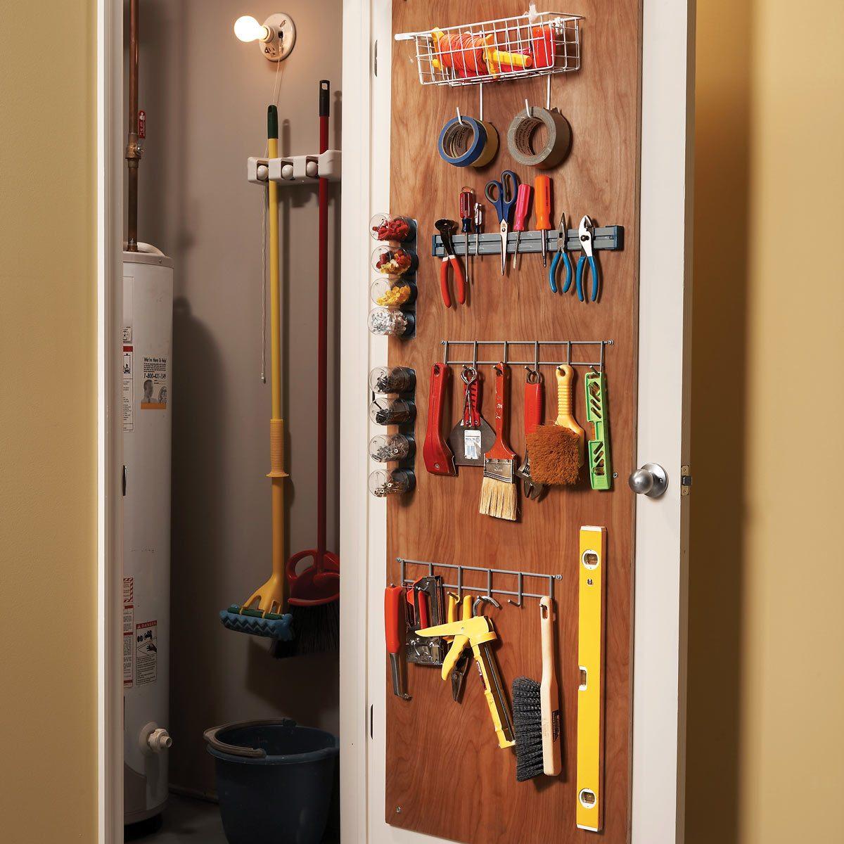 back of door storage