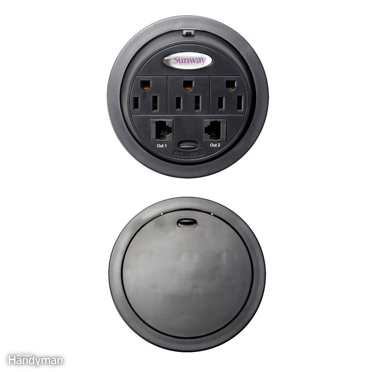 Reduce Cord Clutter with a PowerTap Grommet
