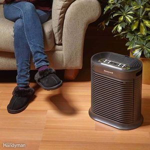 air purifier units with True HEPA filters how to remove dust from air