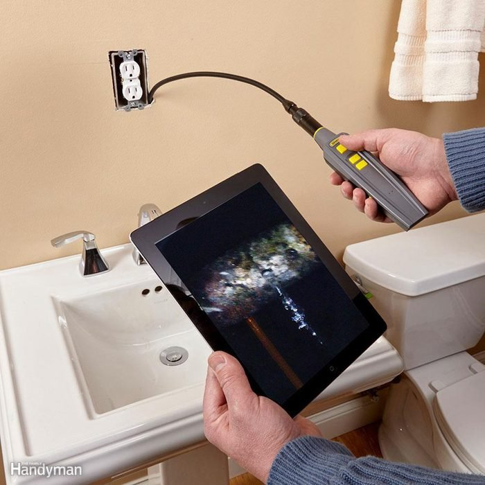 See Inside your Walls with the General iBorescope