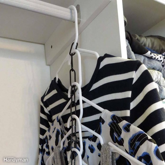 Clothing Storage Solutions: DIY Tiered Hangers