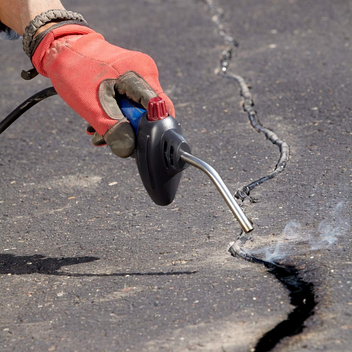 Patch Driveway Cracks