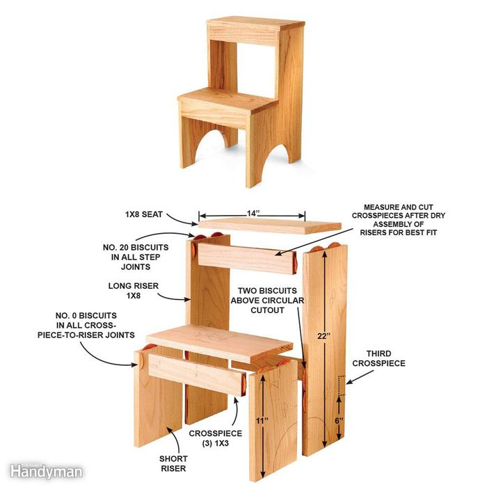 Simple Step Stool