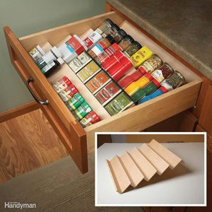 spice rack drawer