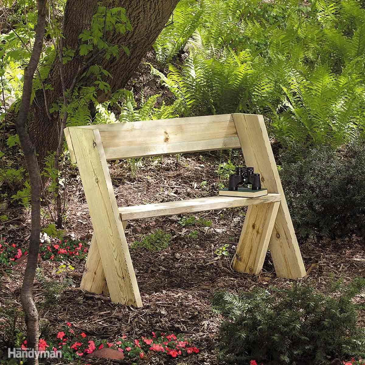 Build a cheap Wooden Bench