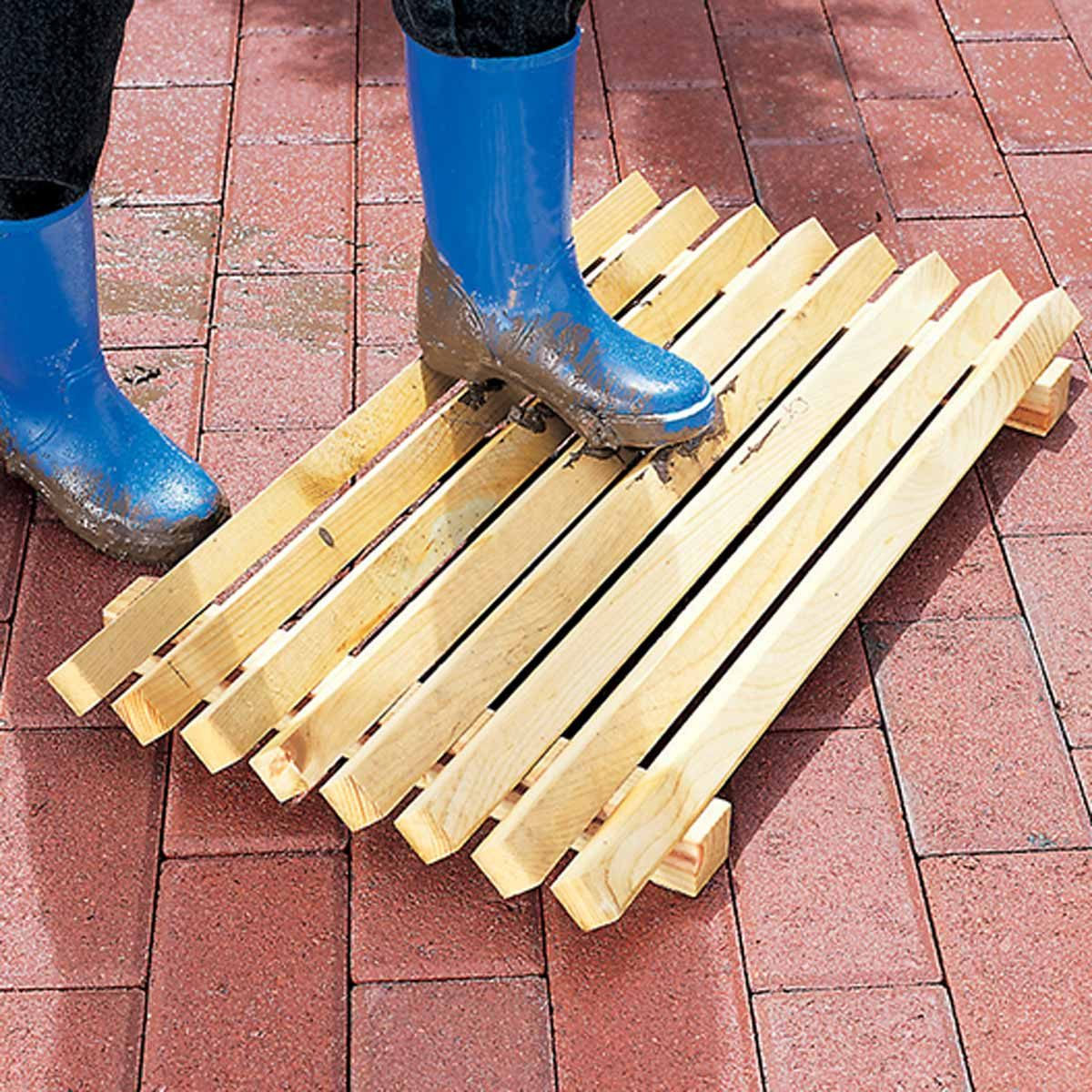 Swedish boot scraper