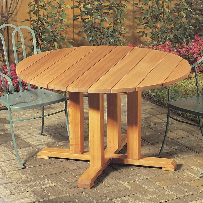 Pedestal Picnic Table