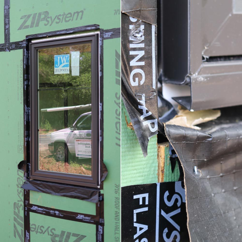 Improperly flashed windows leads to poor insulation | Construction Pro Tips