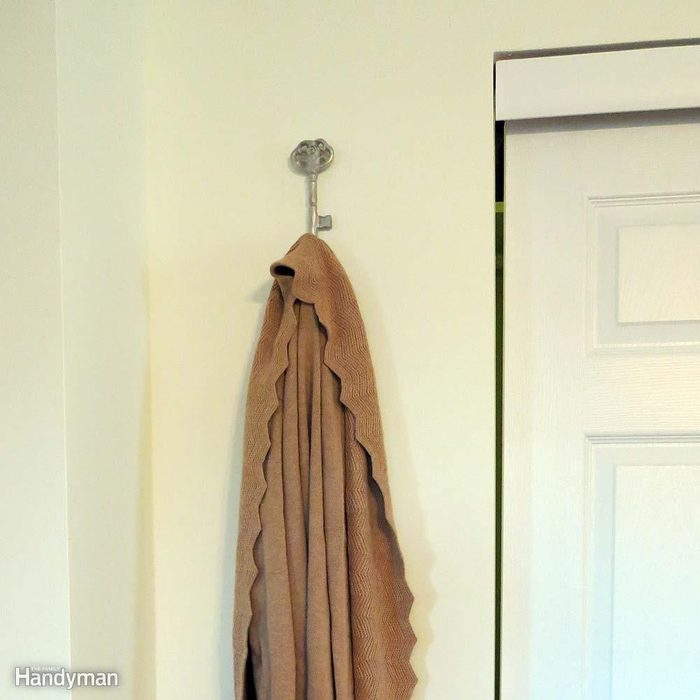 Clothing Storage Solutions: Robe and Wall Hooks
