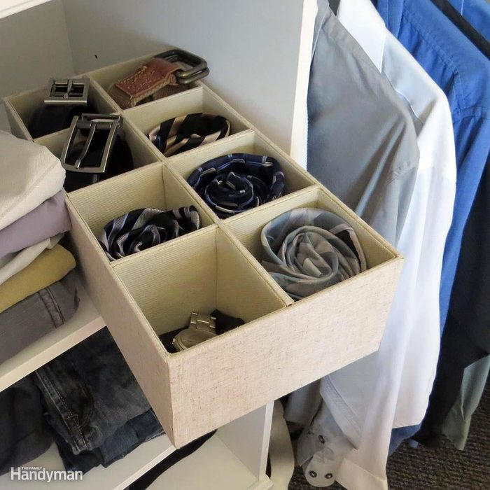 Closet Storage Ideas: Consider Fabric Bins