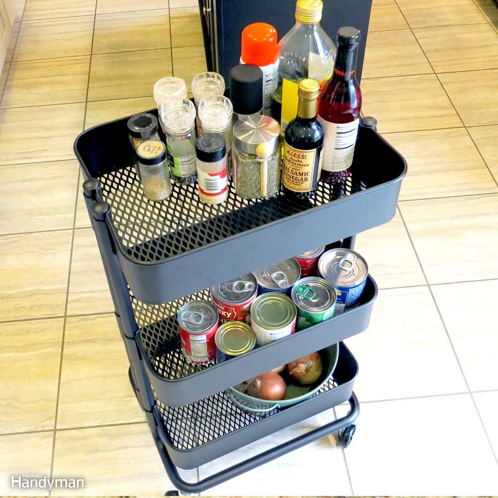 Use a Kitchen Cart