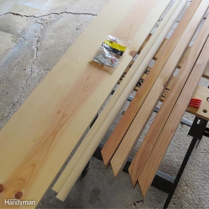 Build a Shoe Rack: Collect Your Materials