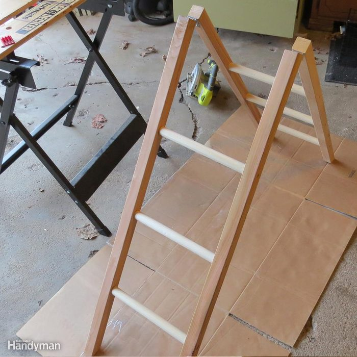 Build a Shoe Rack: Stand it Up