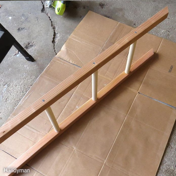 Build a Shoe Rack: Flip for Ladders