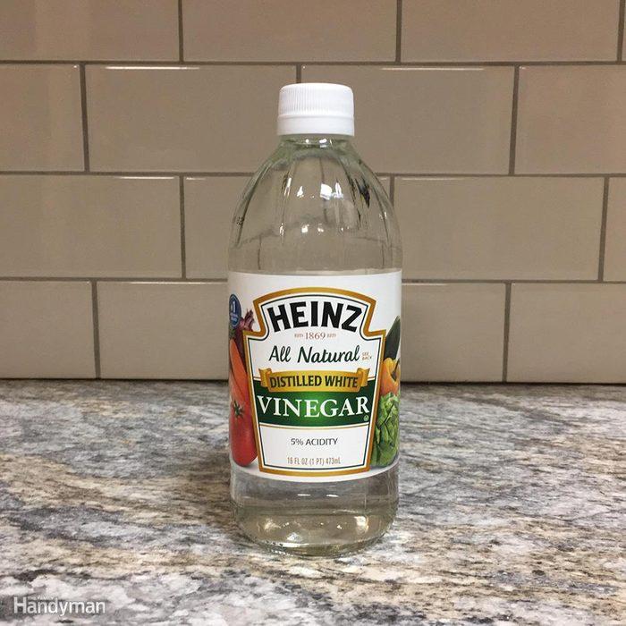 Vinegar works, too