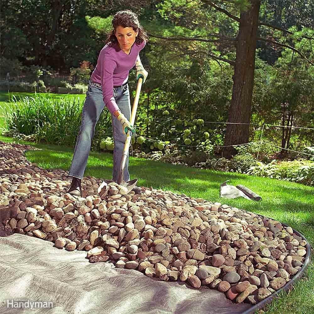 rock bed
