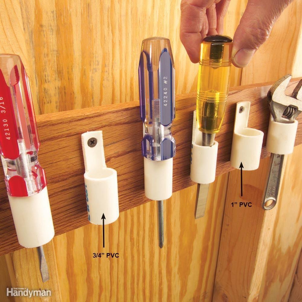 PVC Tool Pockets