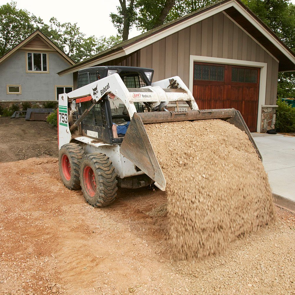 Pouring a good gravel base | Construction Pro Tips
