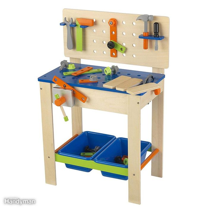 A Workbench That's Just the Right Size