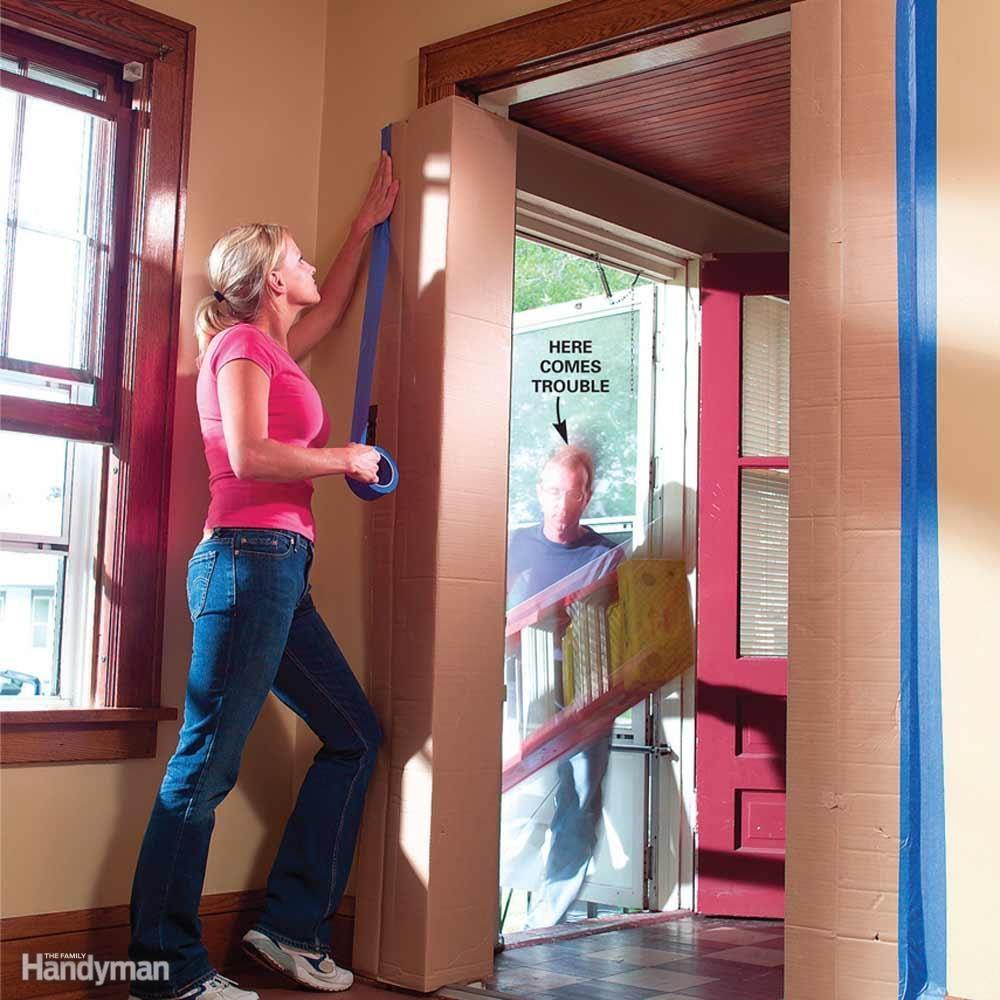 Wrap Doorways for Bump Protection