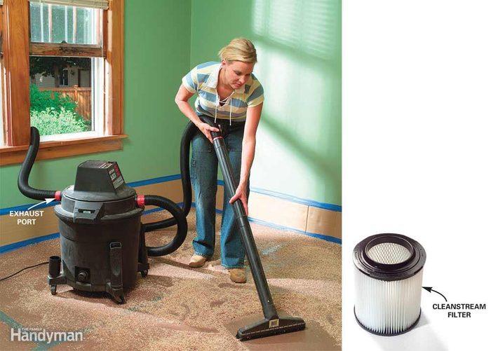 Vacuum Without Raising More Dust