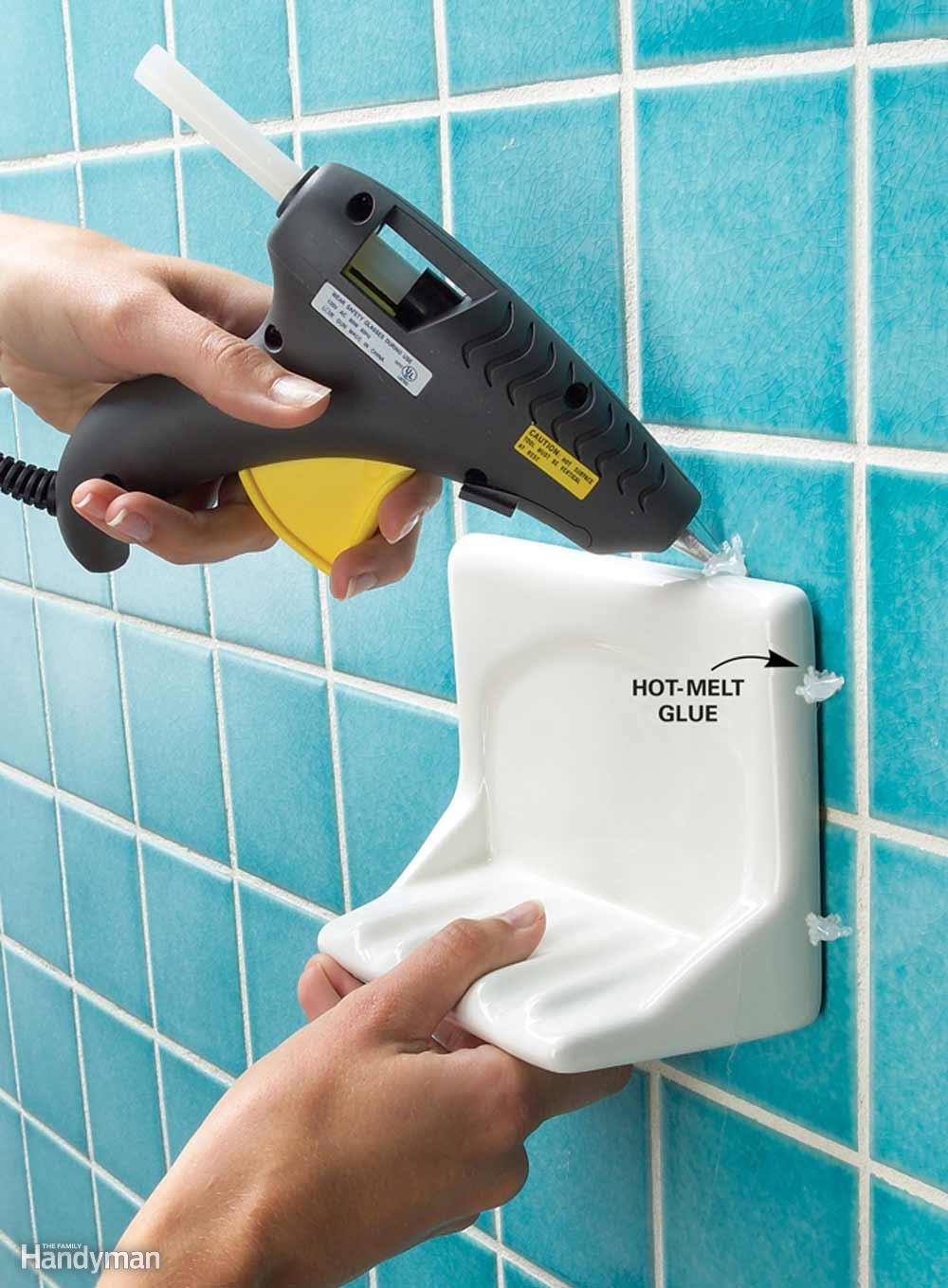 Hot Glue for Tile Accessories
