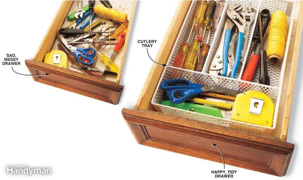 Cutlery Tray Tool Chest