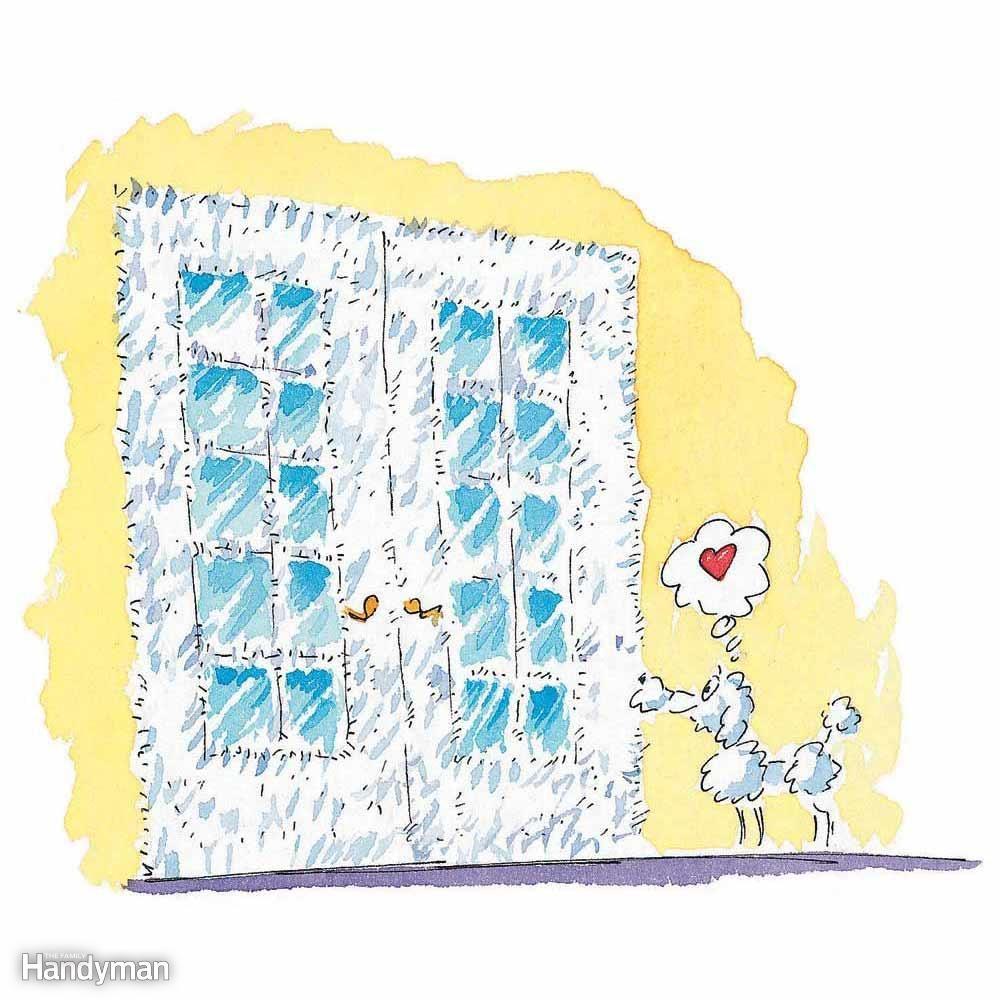 Fuzzy French Doors