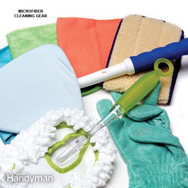 Microfiber Products Clean Faster, Easier and Better