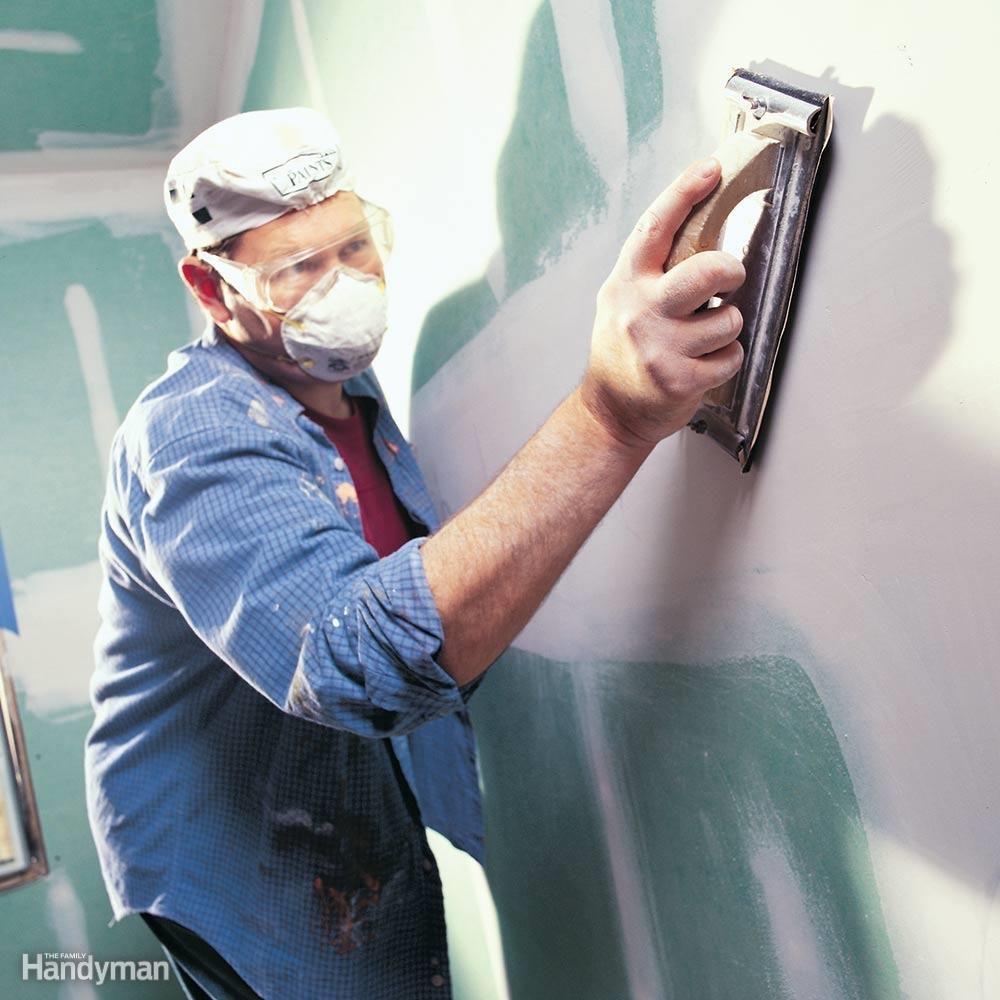 Beware of drywall dust