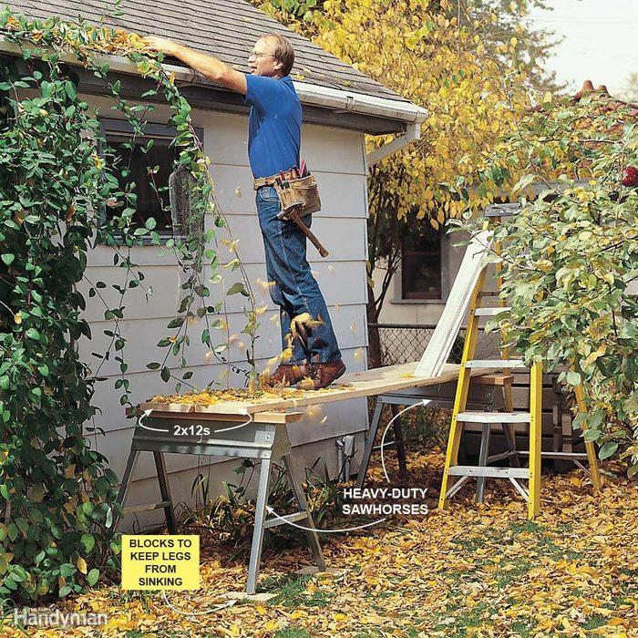 Use Sturdy Scaffolding