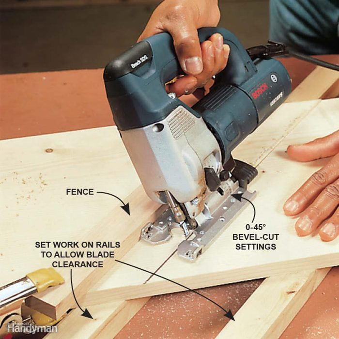 Use a Fence for Perfectly Straight Cuts