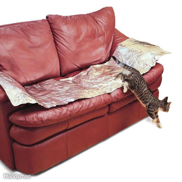 Aluminum Foil Couch Saver