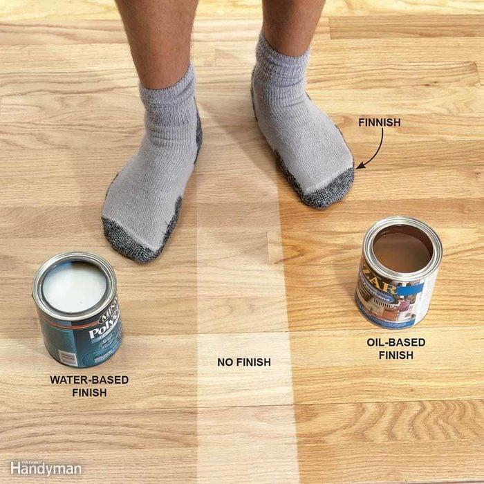 Water-Based vs. Oil-Based Floor Finish